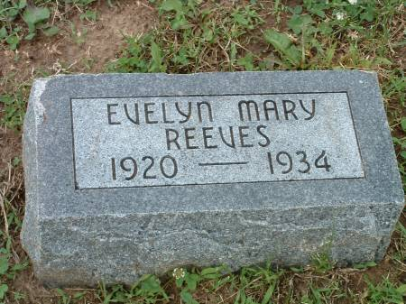 REEVES, EVELYN M - Fremont County, Iowa   EVELYN M REEVES