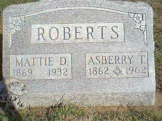 ROBERTS, ASBERRY - Fremont County, Iowa | ASBERRY ROBERTS