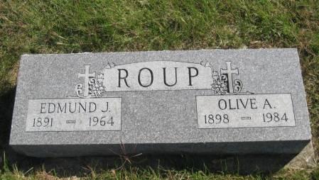 ROUP, EDMUND J. - Fremont County, Iowa | EDMUND J. ROUP