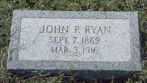 RYAN, JOHN - Fremont County, Iowa   JOHN RYAN