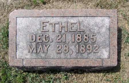SCHULTHIES, ETHEL - Fremont County, Iowa   ETHEL SCHULTHIES