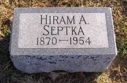 SEPTKA, HIRAM A - Fremont County, Iowa | HIRAM A SEPTKA
