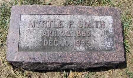 SMITH, MYRTLE P - Fremont County, Iowa | MYRTLE P SMITH