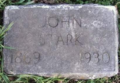 STARK, JOHN - Fremont County, Iowa   JOHN STARK