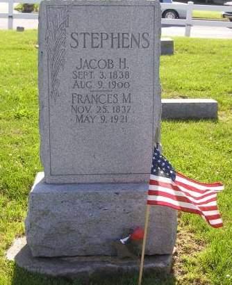 STEPHENS, JACOB - Fremont County, Iowa   JACOB STEPHENS