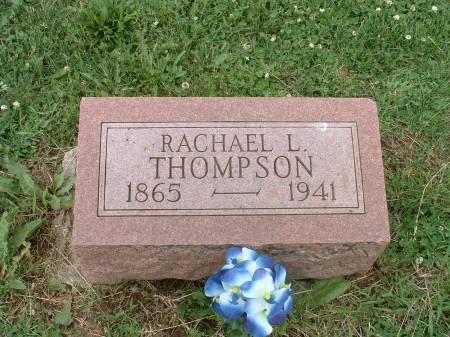IRWIN THOMPSON, RACHAEL L - Fremont County, Iowa   RACHAEL L IRWIN THOMPSON