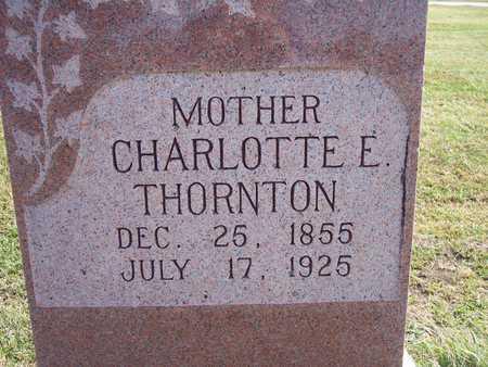THORNTON, CHARLOTTE E. - Fremont County, Iowa | CHARLOTTE E. THORNTON