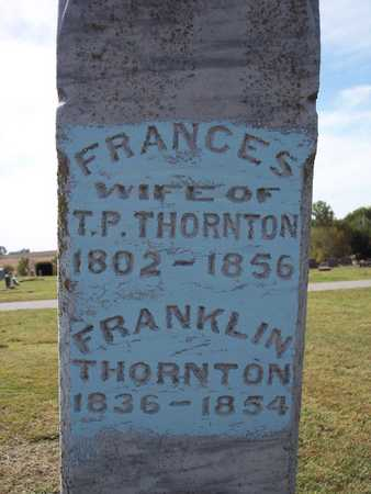 THORNTON, FRANKLIN - Fremont County, Iowa   FRANKLIN THORNTON