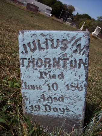 THORNTON, JULIUS - Fremont County, Iowa | JULIUS THORNTON