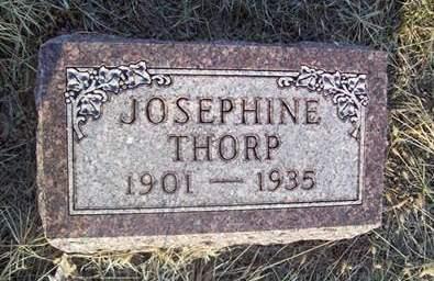 THORP, JOSEPHINE - Fremont County, Iowa   JOSEPHINE THORP