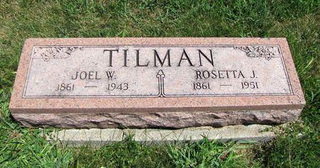MANNON TILMAN, ROSETTA - Fremont County, Iowa | ROSETTA MANNON TILMAN