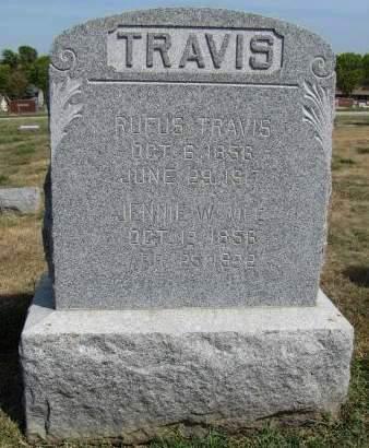 TRAVIS, JENNIE - Fremont County, Iowa   JENNIE TRAVIS