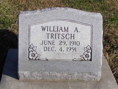 TRITSCH, WILLIAM A - Fremont County, Iowa | WILLIAM A TRITSCH