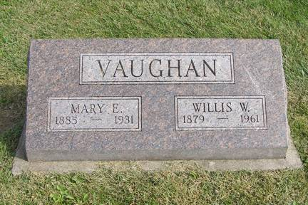 VAUGHAN, MARY E - Fremont County, Iowa | MARY E VAUGHAN