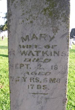 WATKINS, MARY POLLY - Fremont County, Iowa | MARY POLLY WATKINS