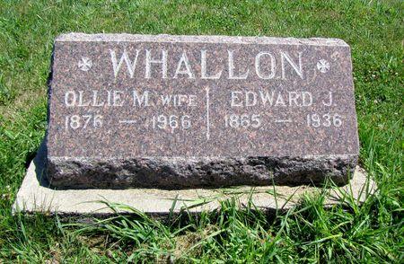 WHALLON, EDWARD - Fremont County, Iowa | EDWARD WHALLON