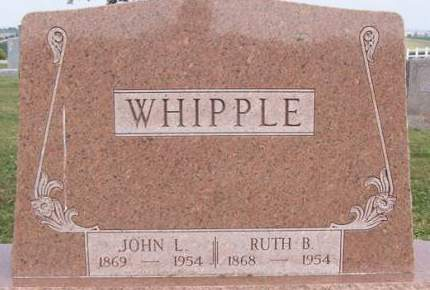 JORDAN WHIPPLE, RUTH BELLE - Fremont County, Iowa | RUTH BELLE JORDAN WHIPPLE