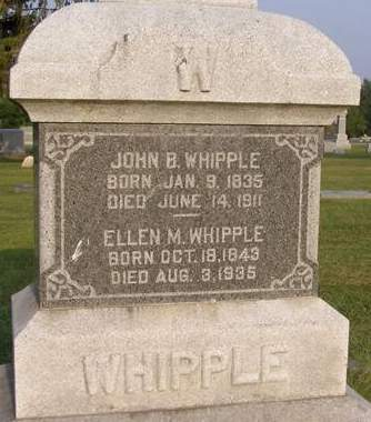 KILMER WHIPPLE, ELLEN M - Fremont County, Iowa | ELLEN M KILMER WHIPPLE