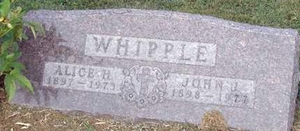 WHIPPLE, JOHN JORDAN - Fremont County, Iowa | JOHN JORDAN WHIPPLE