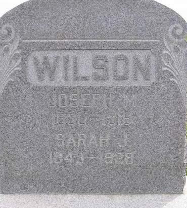 WILSON, SARAH - Fremont County, Iowa | SARAH WILSON