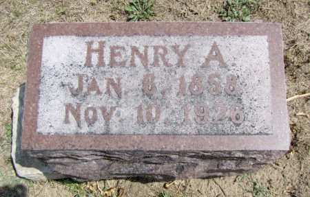 WRIGHT, HENRY A - Fremont County, Iowa | HENRY A WRIGHT