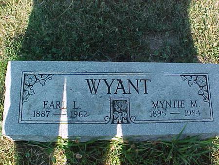 WYANT, MYNTIE M - Fremont County, Iowa | MYNTIE M WYANT