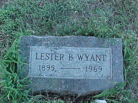 WYANT, LESTER - Fremont County, Iowa   LESTER WYANT