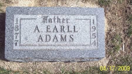 ADAMS, A EARLL - Greene County, Iowa | A EARLL ADAMS