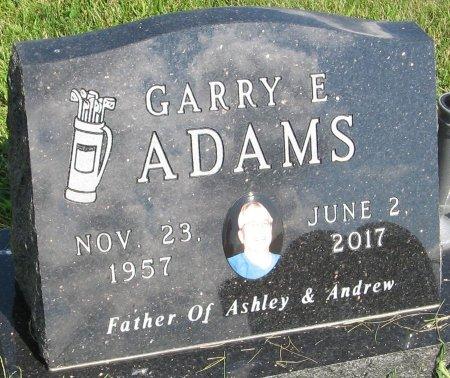 ADAMS, GARRY E. - Greene County, Iowa   GARRY E. ADAMS