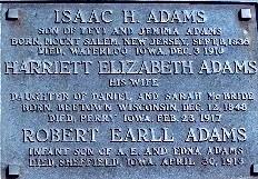 ADAMS, ISAAC H - Greene County, Iowa | ISAAC H ADAMS