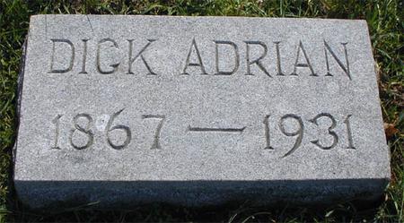 ADRIAN, DICK - Greene County, Iowa   DICK ADRIAN