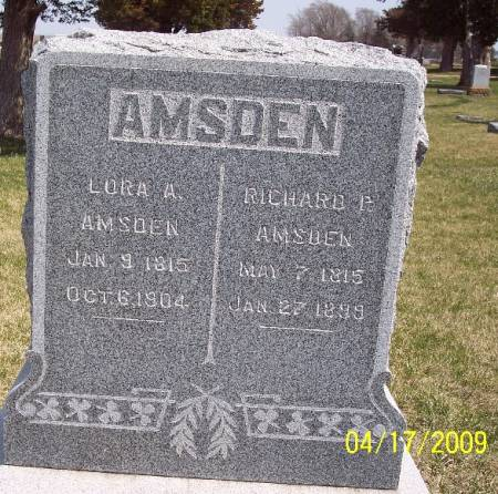 AMSDEN, LORA ANN - Greene County, Iowa | LORA ANN AMSDEN