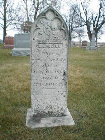 ANDREW, CAROLINE - Greene County, Iowa   CAROLINE ANDREW