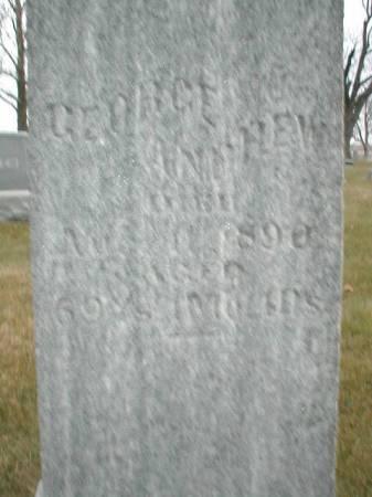 ANDREW, GEORGE - Greene County, Iowa   GEORGE ANDREW