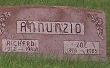 ANNUNZIO, ZOE - Greene County, Iowa | ZOE ANNUNZIO