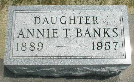 THOMPSON BANKS, ANNIE - Greene County, Iowa | ANNIE THOMPSON BANKS