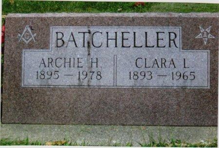 HANSEN BATCHELLER, CLARA L. - Greene County, Iowa | CLARA L. HANSEN BATCHELLER