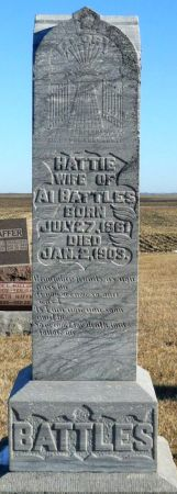 THORNTON BATTLES, HATTIE - Greene County, Iowa | HATTIE THORNTON BATTLES