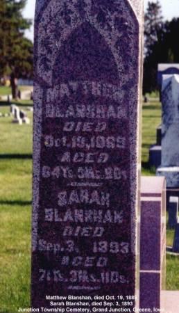 BLANSHAN, MATTHEW - Greene County, Iowa | MATTHEW BLANSHAN