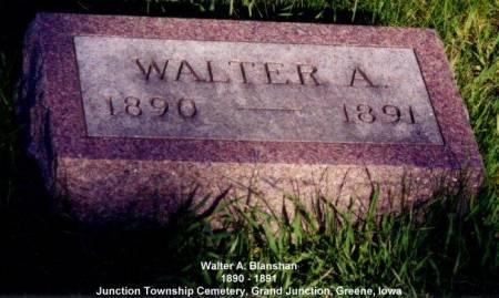 BLANSHAN, WALTER A. - Greene County, Iowa | WALTER A. BLANSHAN