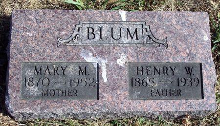 BLUM, HENRY W - Greene County, Iowa | HENRY W BLUM