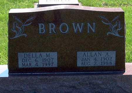 SHANON BROWN, DELLA - Greene County, Iowa | DELLA SHANON BROWN