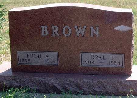 HOYT BROWN, OPAL - Greene County, Iowa   OPAL HOYT BROWN