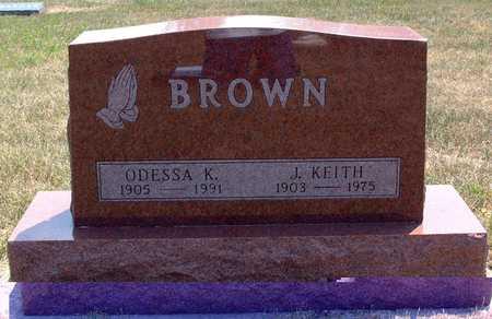 HOYT BROWN, ODESSA - Greene County, Iowa | ODESSA HOYT BROWN