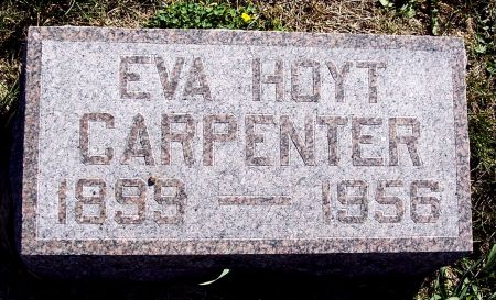 CARPENTER, EVA M - Greene County, Iowa | EVA M CARPENTER