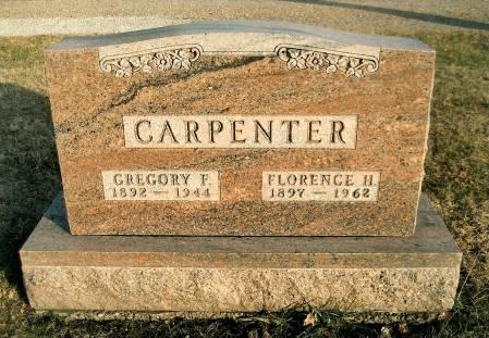CARPENTER, GREGORY FRANCIS - Greene County, Iowa | GREGORY FRANCIS CARPENTER