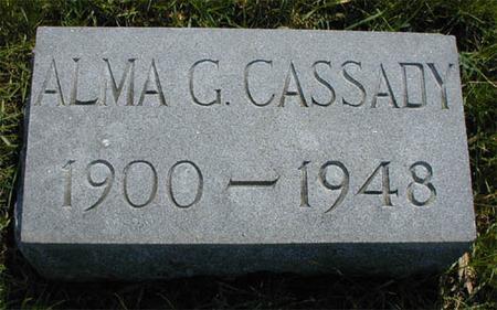 ADRIAN CASSADY, ALMA - Greene County, Iowa | ALMA ADRIAN CASSADY