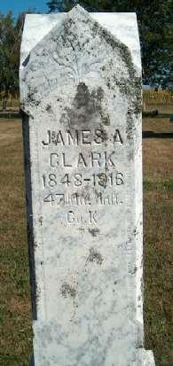 CLARK, JAMES A. - Greene County, Iowa | JAMES A. CLARK
