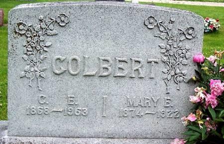MATTSON COLBERT, MARY E - Greene County, Iowa   MARY E MATTSON COLBERT