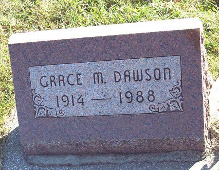 PARSONS DAWSON, GRACE M - Greene County, Iowa | GRACE M PARSONS DAWSON
